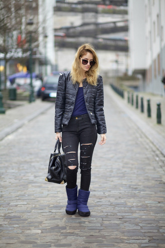 from brussels with love blogger winter boots