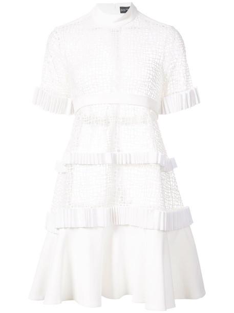 david koma dress lace dress women lace white