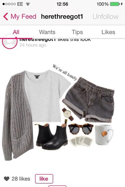 jacket shorts shirt sunglasses jewels shoes