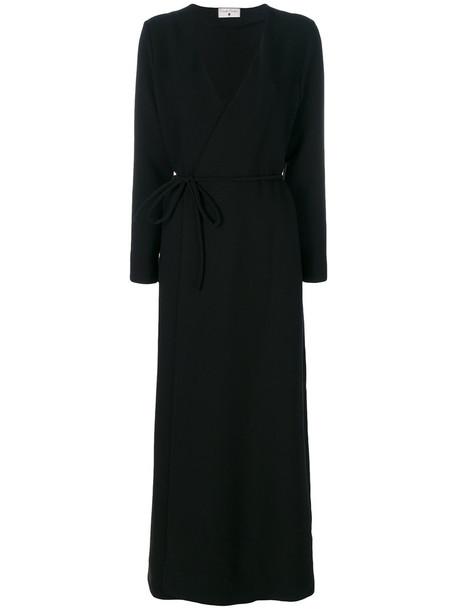 Daniela Pancheri dress wrap dress women spandex black