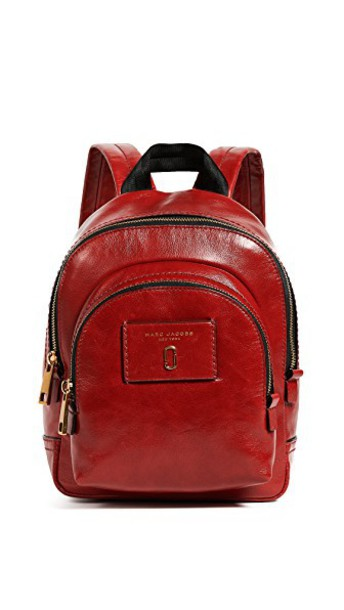 Marc Jacobs mini backpack red bag
