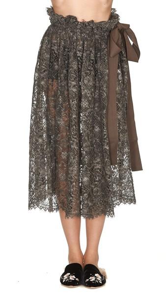 Uma Wang skirt brown