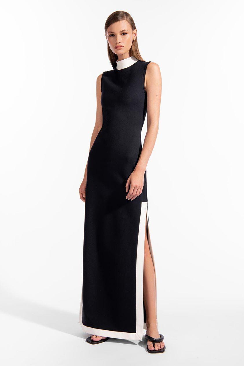 NOIR DRESS | BLACK WHITE