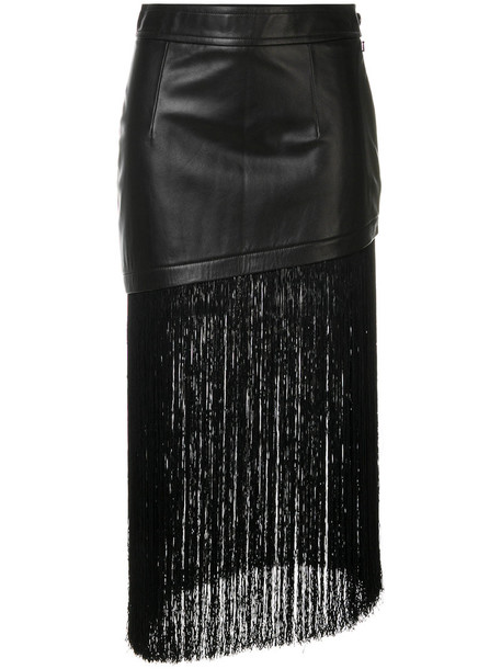 skirt asymmetrical women black