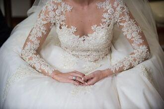 dress wedding dress lace top wedding dress long sleeve wedding dresses lace wedding dress lace dress vestidos de novia vestido de noiva