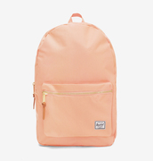 bag,herschel supply co.,coral backpack,backpack,supply co.,coral,pink