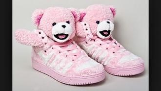 shoes white fashion pinkkk