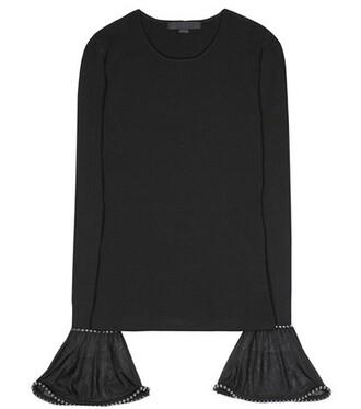top embellished black