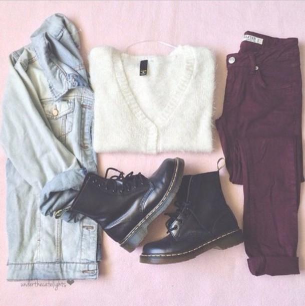 jeans maroon skinny jeans