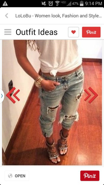 jeans boyfriend jeans shoes