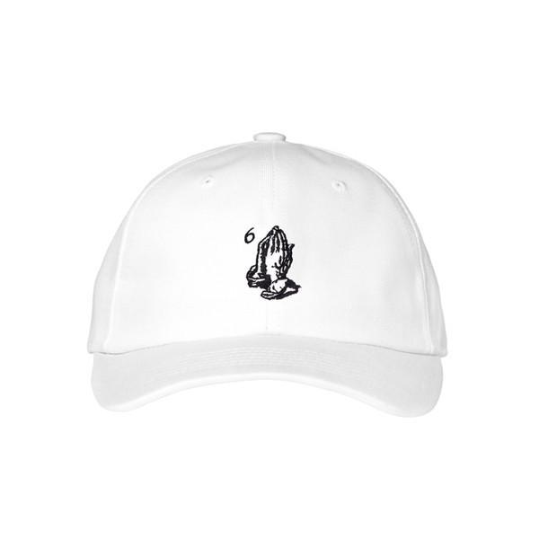 6 God White - Baseball Cap