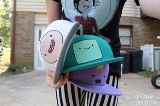 hat adventure time snapback t-shirt
