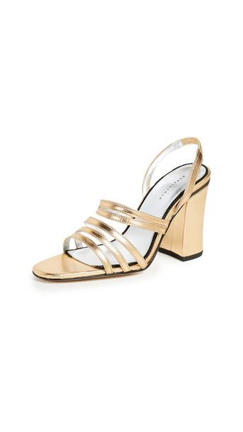 Dorateymur Integra Sandals in gold