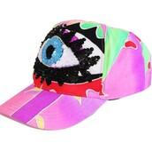 hat,cute,girly,cap,multicolor
