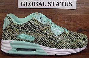 Nike ID Womens Air Max Lunar 90 Snakeskin Custom Running Shoes 708288 991 Sz 6   eBay