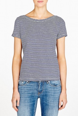 Crew neck striped top by a.p.c.