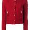Iro - agnette jacket - women - cotton - 40, red, cotton