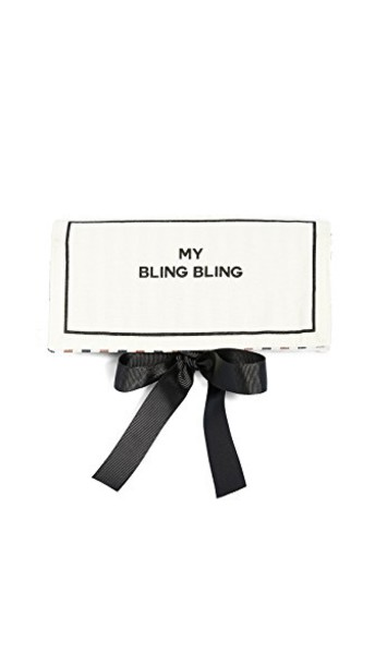 Bag-all My Bling Bling Jewelry Roll in black / natural