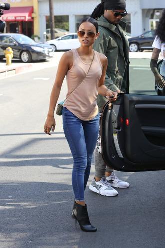 jeans karrueche ankle boots