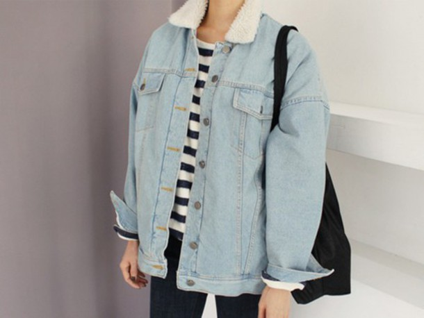 jacket denim indie alternative hipster grunge