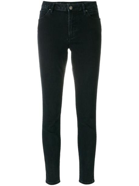 Calvin Klein Jeans jeans skinny jeans women spandex cotton blue