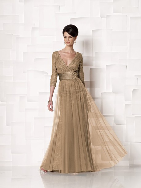 Mother Of The Bride Gold Dresses - Ocodea.com