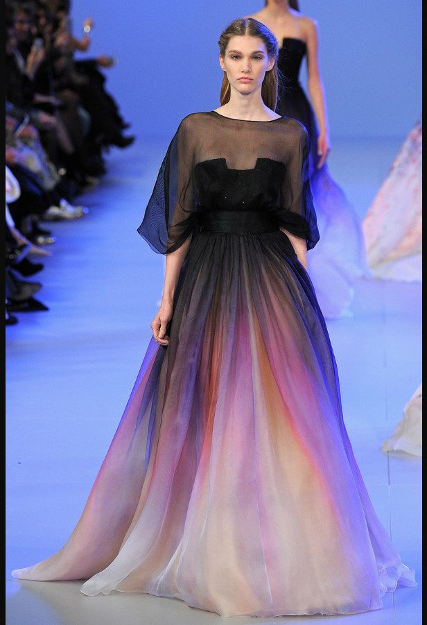 Aliexpress.com : Buy Beautiful Vestidos Lily Collins Elie Saab ...