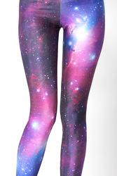 Online Shop HOT! SEXY! supernova sale Women Galaxy Purple Leggings Space Printed Pants Milk Leggings Plus Size FREE SHIPPING|Aliexpress Mobile