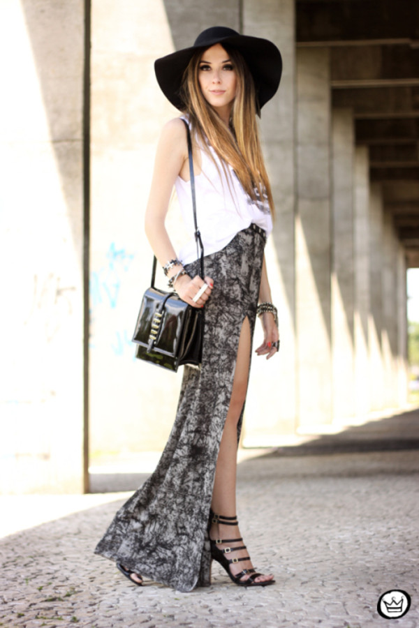 fashion coolture t-shirt skirt belt bag hat shoes