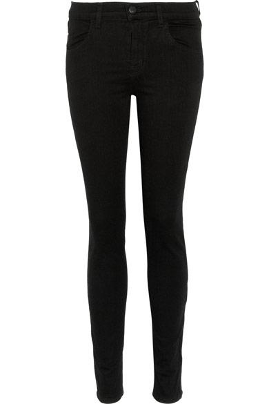 J Brand|Maria Power Stretch high-rise skinny jeans|NET-A-PORTER.COM