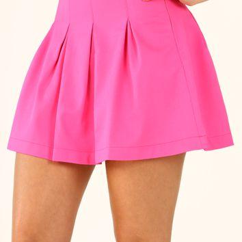 Feels So Close Skirt: Hot Pink on Wanelo