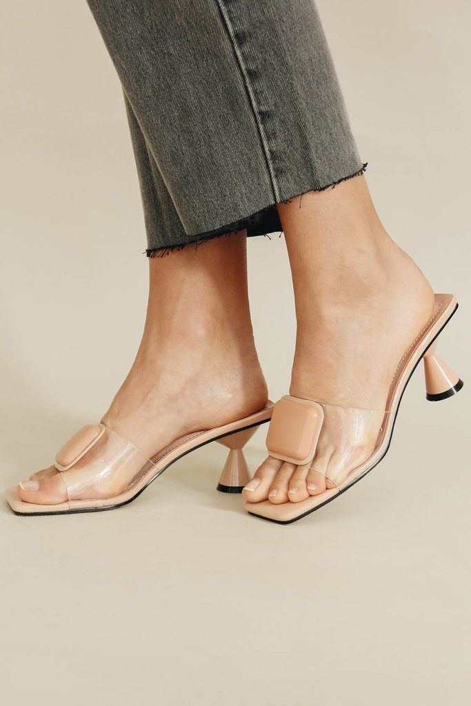 Off-Duty Mules // Nude