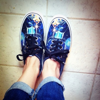 shoes vans kawaii star wars girl hipster acacia yoda lucasfilm adorable tomboy london 5sos darth vader r2d2 printed vans