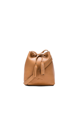 bag bucket bag brown