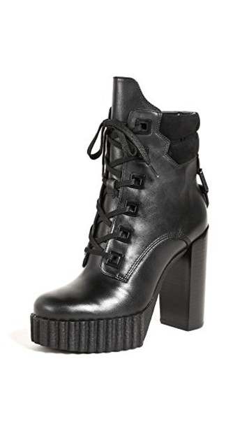 KENDALL + KYLIE booties black shoes