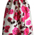 Glam Rose Print A-line Midi Skirt - Retro, Indie and Unique Fashion