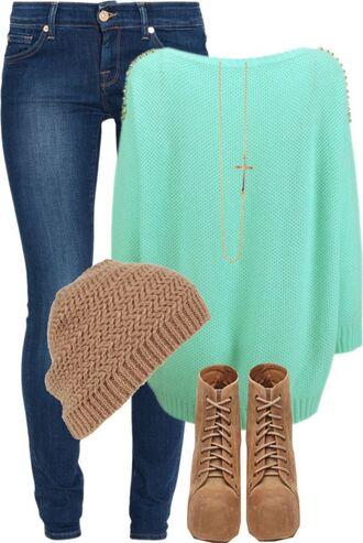 blouse weheartit shoes hat