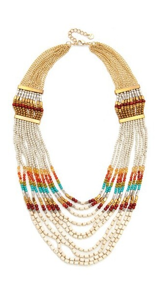 rainbow statement necklace statement necklace turquoise jewels