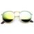 Trendy Retro P3 Round Flash Revo Mirror Lens Metal Sunglasses 9208