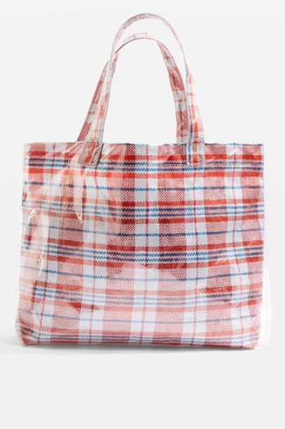 bag tote bag red