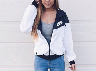 jacket nike instagram nike jacket nike windbreaker windbreaker sporty cute