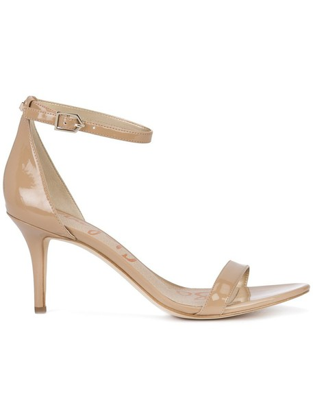 Sam Edelman women sandals leather nude shoes