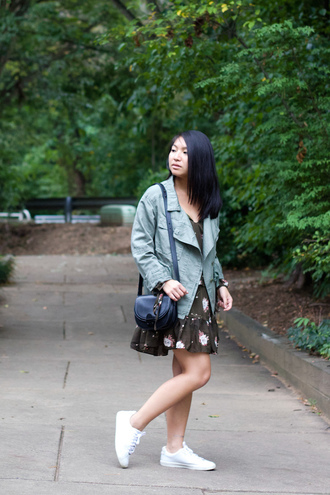 looks by lau blogger jacket dress shoes bag