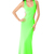 Cut Out Neon Tube Maxi