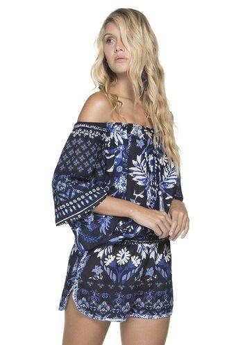 romper floral blue boho floral maxi dress blue romper boho chic off the shoulder off the shoulder top jumpsuit floral jumpsuit