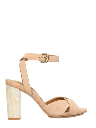 sandals leather sandals leather suede pink rose shoes