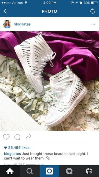 shoes nike white white shoes