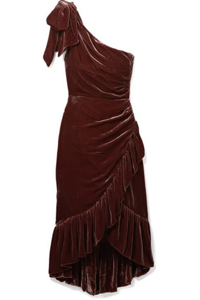 Ulla Johnson dress velvet dress velvet burgundy