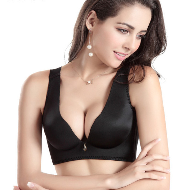 underwear sexy bras bra wireless bras v-neck bras fashion bras adjustable bra seamless bras