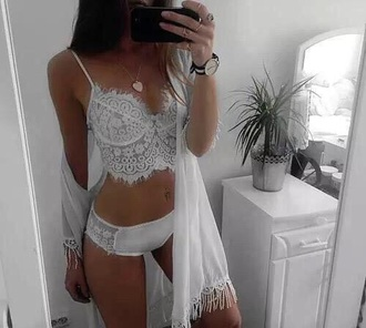 underwear nightwear bralette robe lingerie white lace pajamas shirt lingerie set lace dress lace lingerie white lingerie sexy lingerie summer bra white on white top blouse swimwear kimono cami cream crop lace bralette underwear bralette wedding